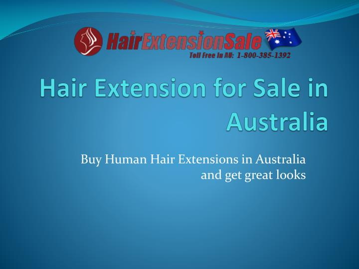 Hair extension for sale in australia