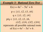 example 3 rational zero test