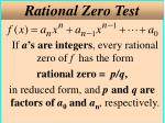 rational zero test