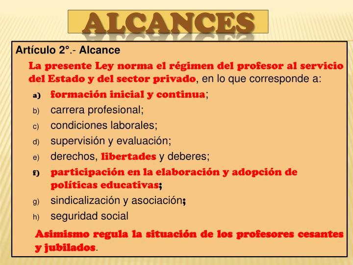 Artículo 2°