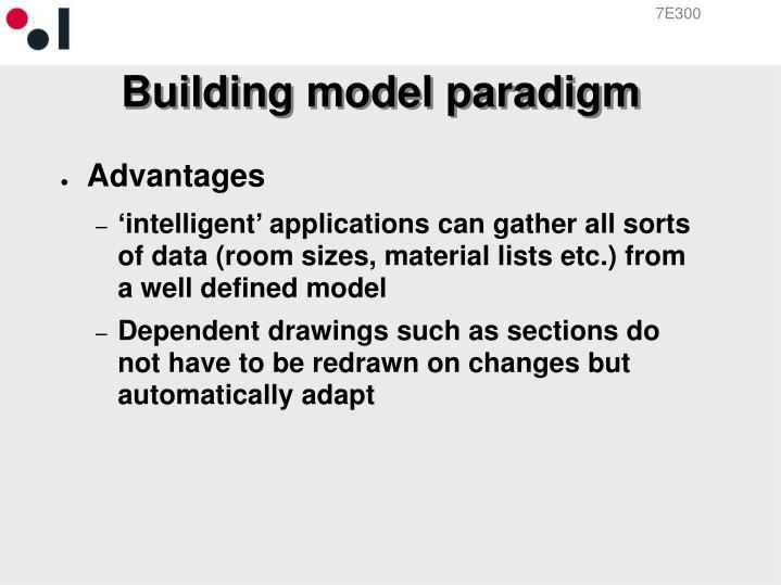 Building model paradigm