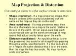 map projection distortion