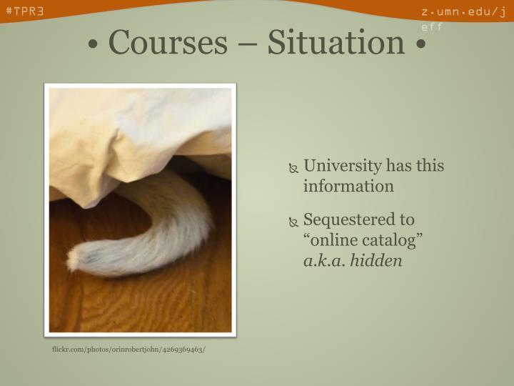 University has this information