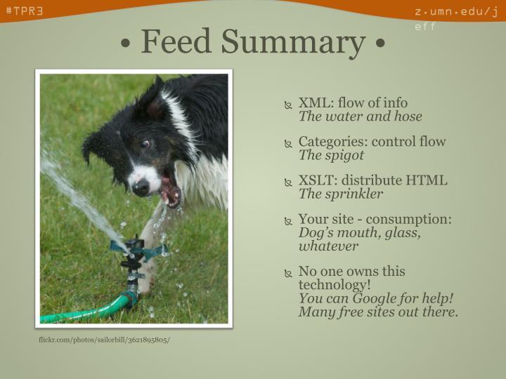 XML: flow of info