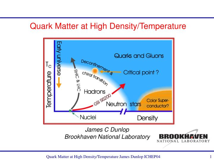 Quark matter at high density temperature