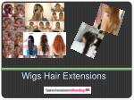 wigs hair extensions