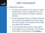 lab homework