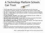 a technology platform s chools c an trust