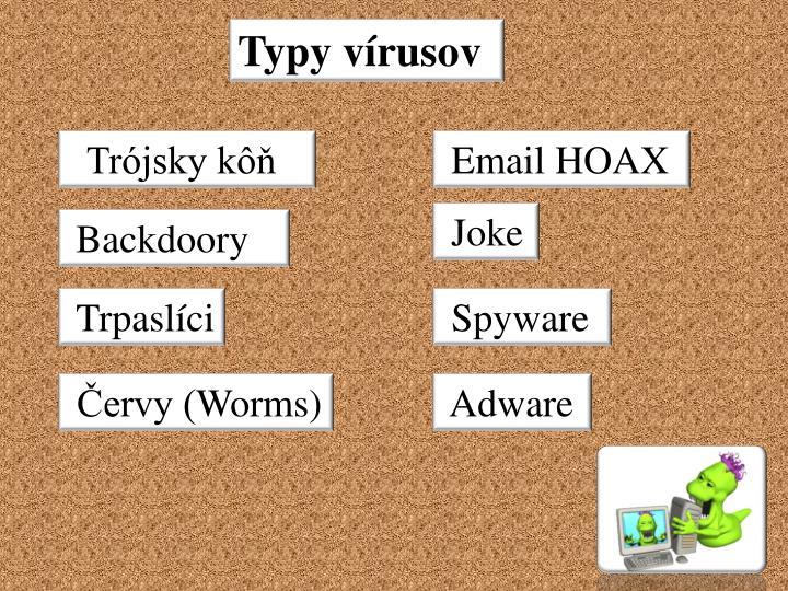 Typy vírusov
