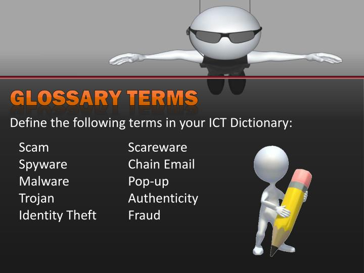 Glossary Terms