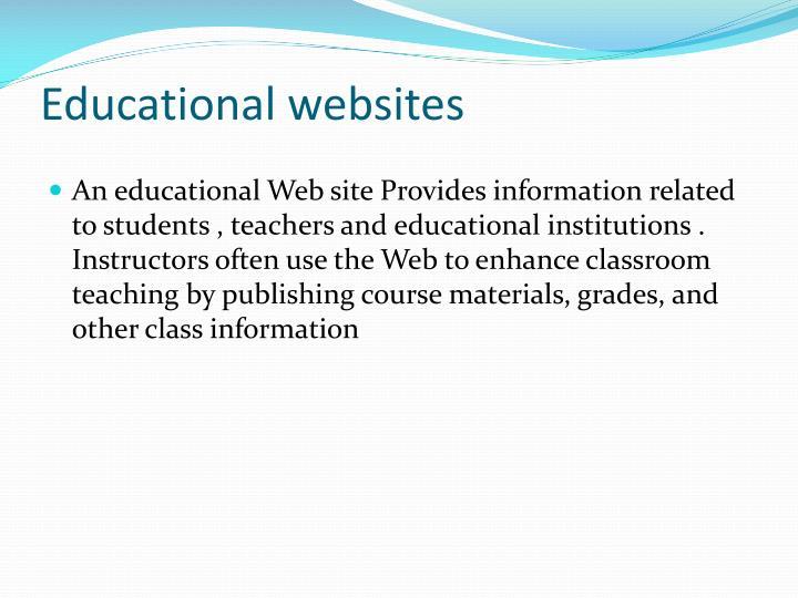Educational websites1
