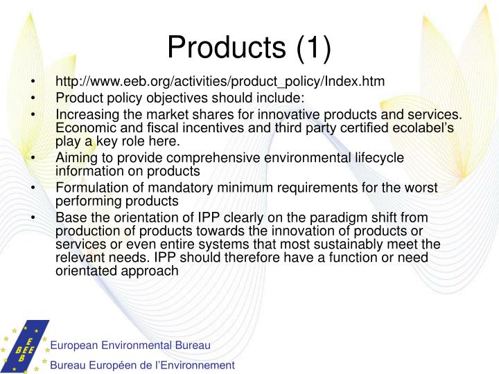 Products (1)