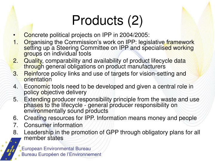 Products (2)