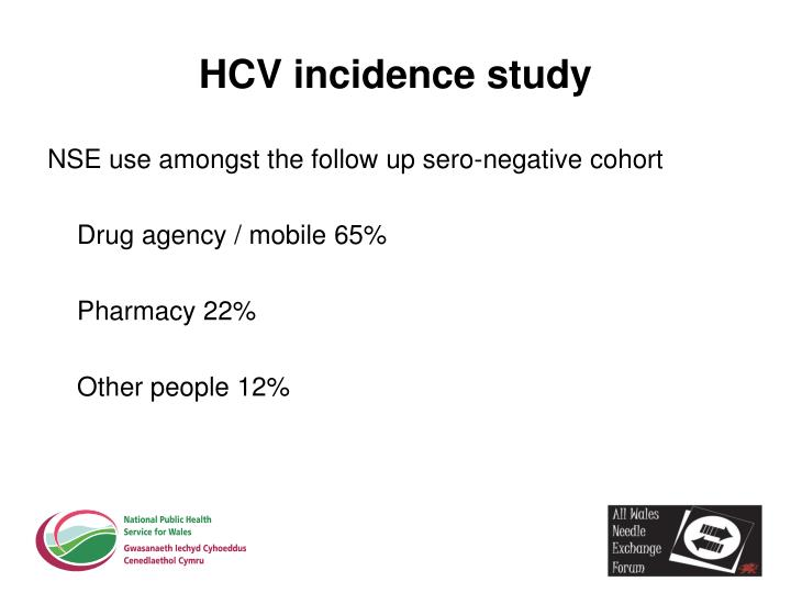 HCV incidence study