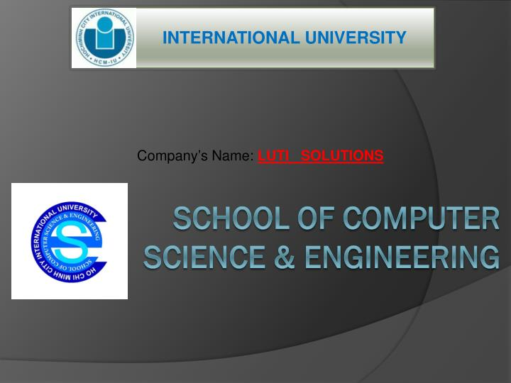 Company s name luti solutions