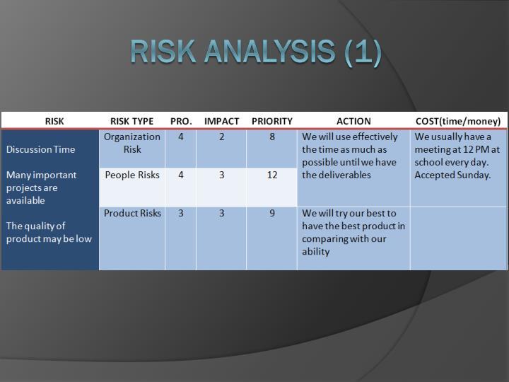 Risk Analysis (1)