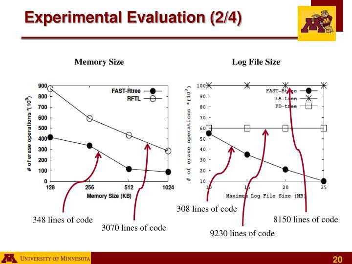 Experimental Evaluation (2/