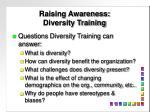 raising awareness diversity training2