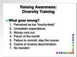raising awareness diversity training3