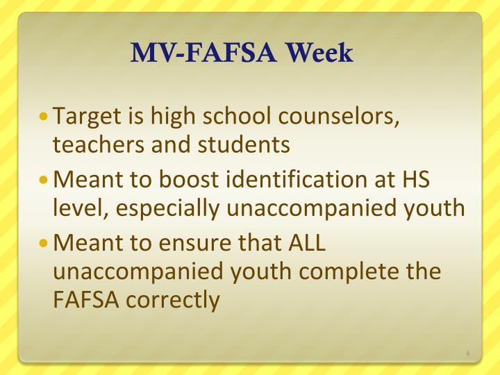 MV-FAFSA Week