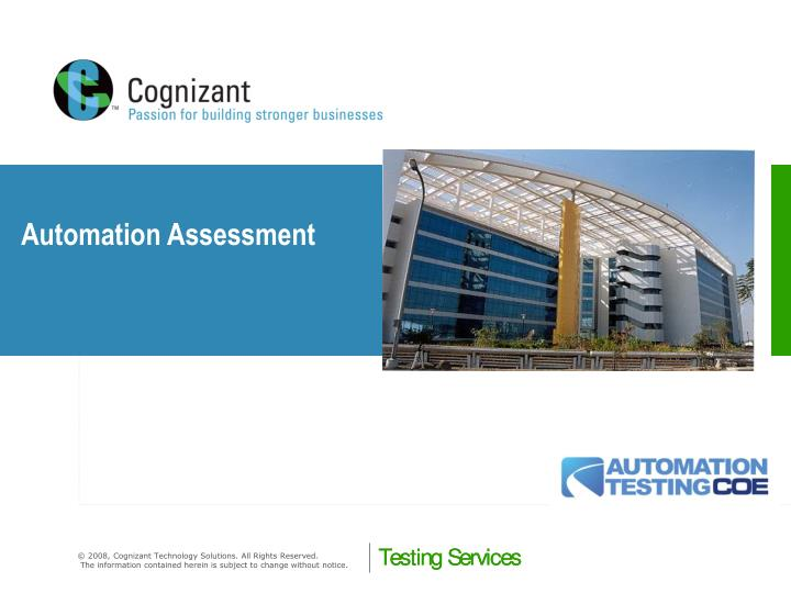 Automation Assessment