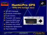 hunterpro gps hp60 gps ventajas clave