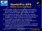 hunterpro gps soporte t cnico y feedback