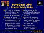 personal gps conexi n celular digital