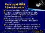personal gps diferencias clave