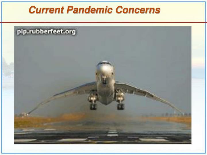 Current Pandemic Concerns