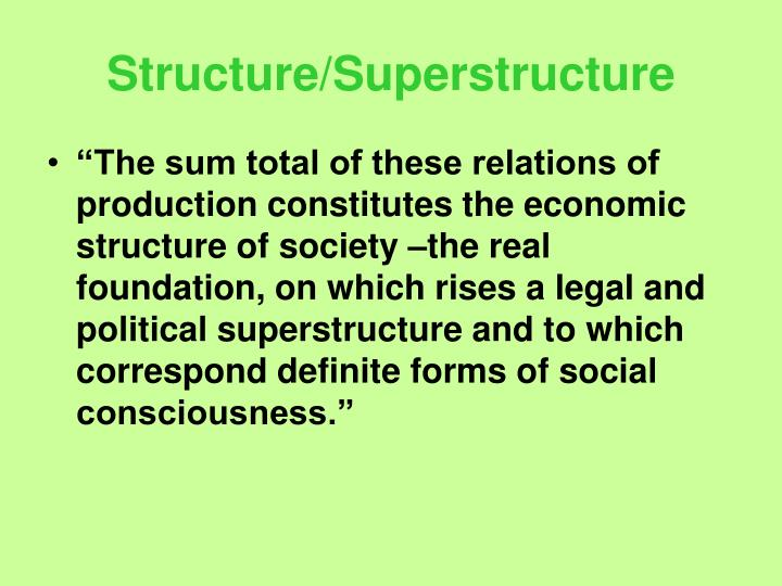 Structure/Superstructure