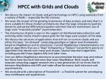 hpcc with grids and clouds1