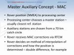 master auxiliary concept mac