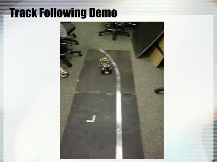 Track Following Demo