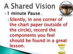 a shared vision1