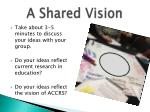a shared vision2