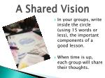 a shared vision3