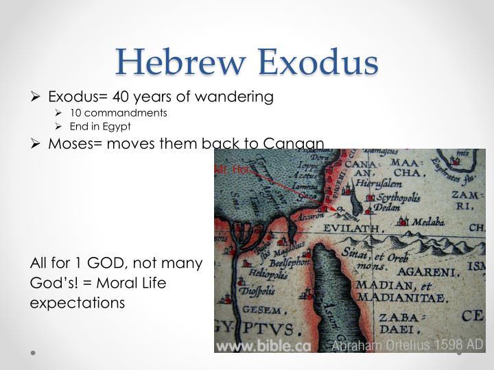 Hebrew Exodus