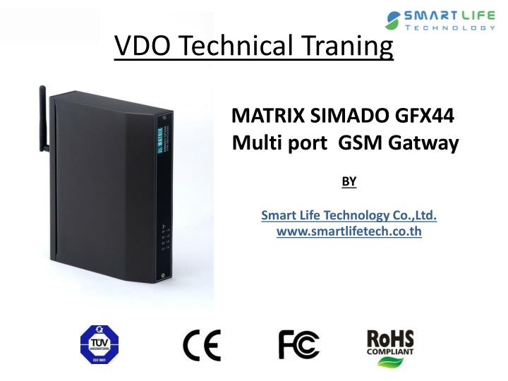 matrix simado gfx44 multi port gsm gatway n.