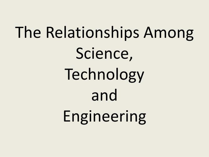 The Relationships Among