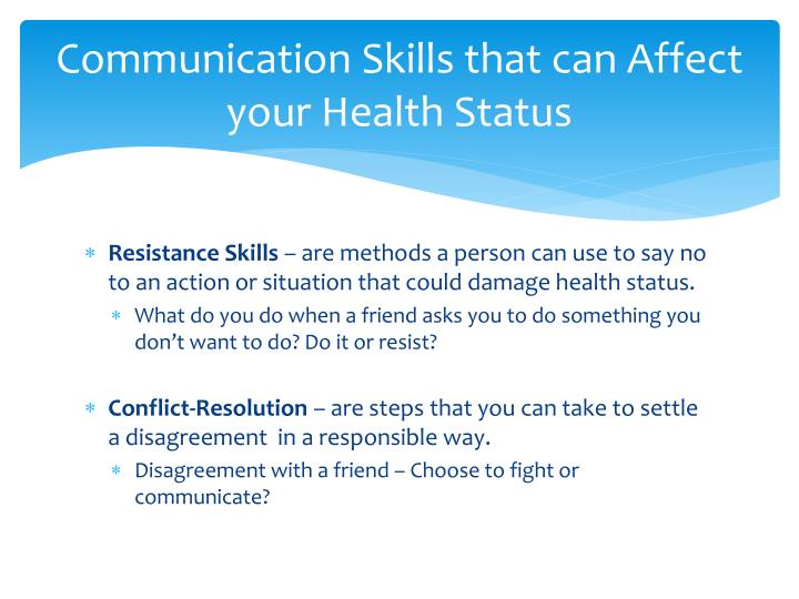 Communication Skills that can Affect your