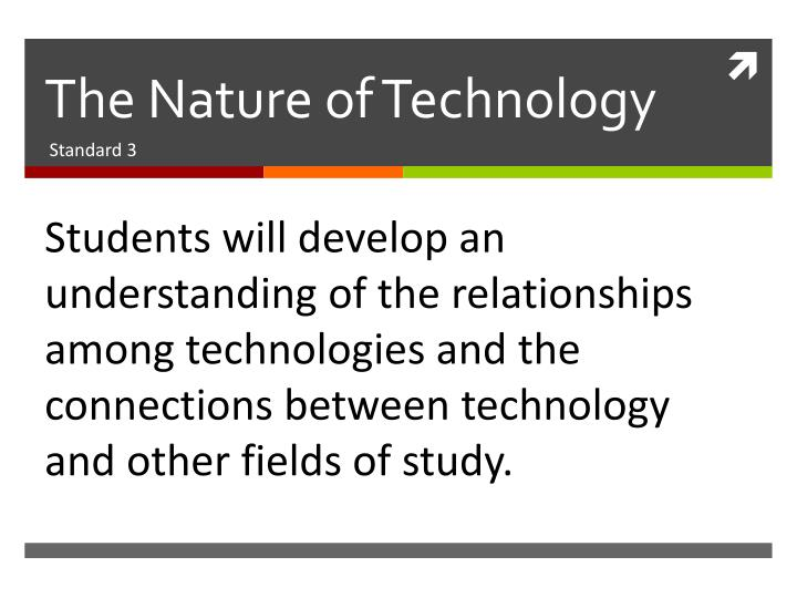 The nature of technology2
