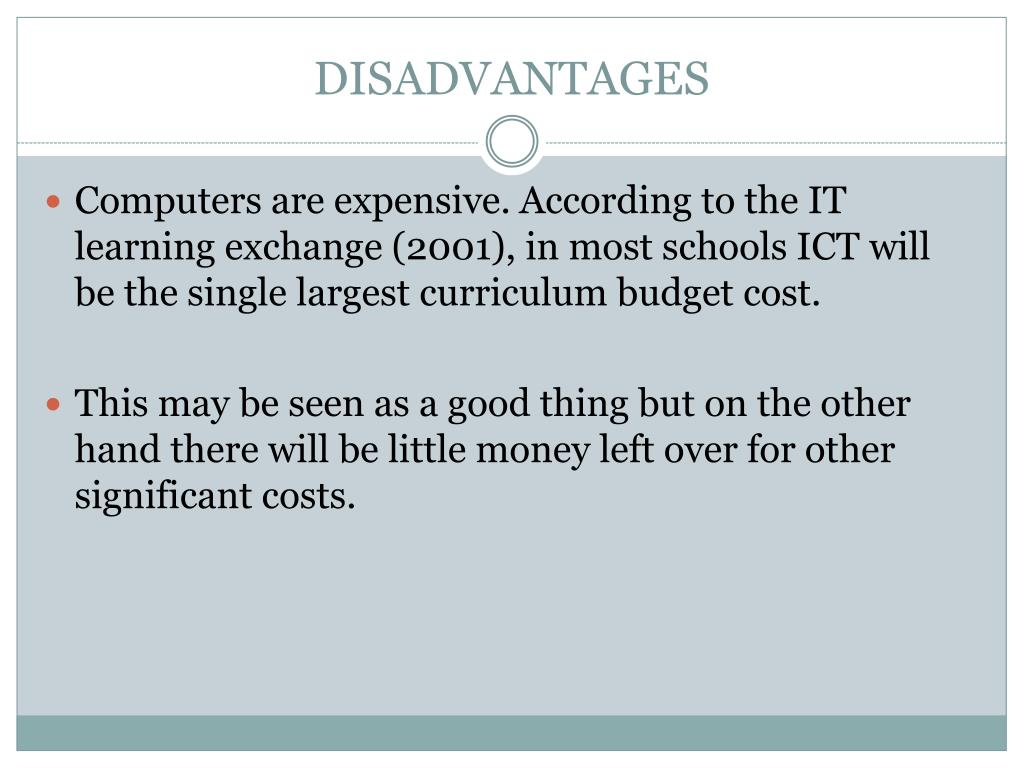 PPT - MODULE 3 BENEFIT OF ICT USAGE (CIPS) IN TEACHING AND LEARNING