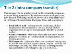tier 2 intra company transfer