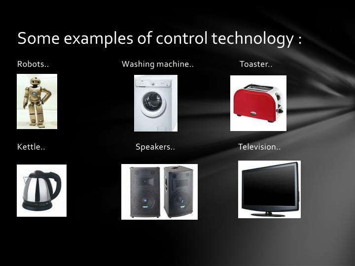 Ppt Control Technology Powerpoint Presentation Id2901115
