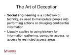 the art of deception2