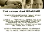 what is unique about engage nm
