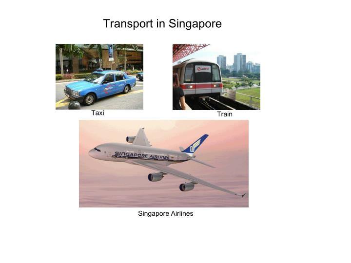 Transport in Singapore