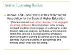 active learning redux