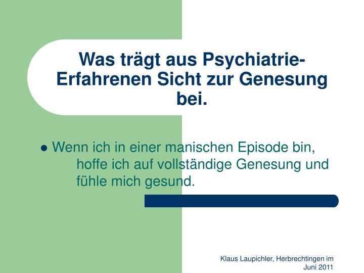 Was tr gt aus psychiatrie erfahrenen sicht zur genesung bei2